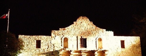 The Alamo is one of san antonio.