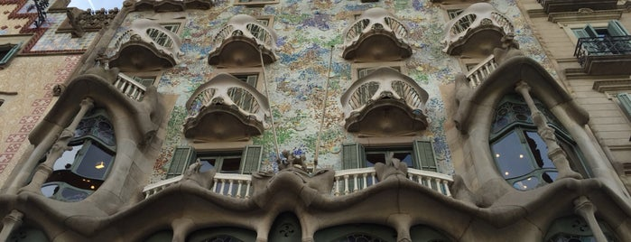 Passeig de Gràcia is one of Marco's Liked Places.