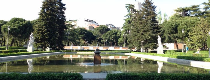 Jardines de Sabatini is one of S Marks The Spots in MADRID.