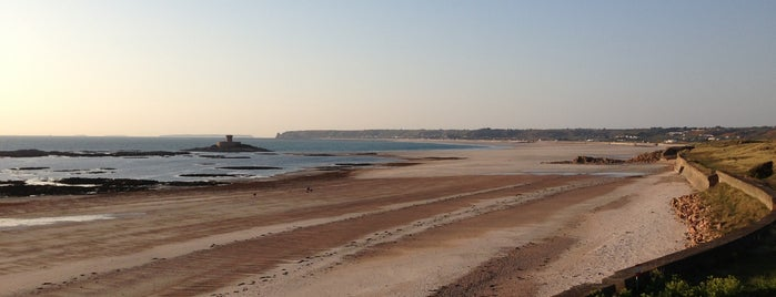 St Ouen's Beach is one of Jersey.