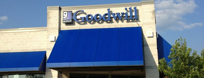 Goodwill is one of Thrift Stores.