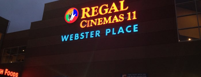 Regal Cinemas Webster Place 11 is one of Posti che sono piaciuti a Michael.
