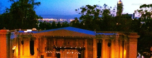 William Randolph Hearst Greek Theatre is one of tunes🎶🎶🎶.