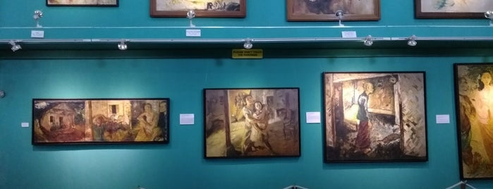 Museum Affandi is one of Lively Yogyakarta.