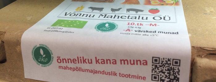 Biomarket is one of Visit Tartu.