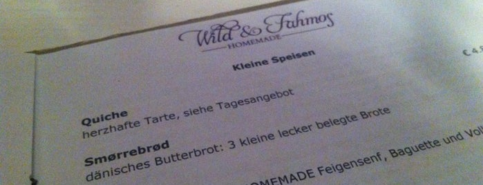 Wild&Fahmos is one of lubeck.
