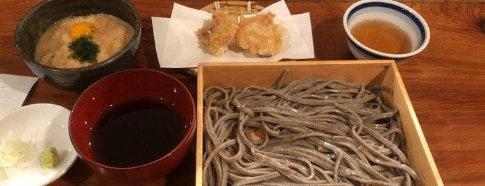 粗挽き蕎麦 トキ is one of Gespeicherte Orte von Hide.