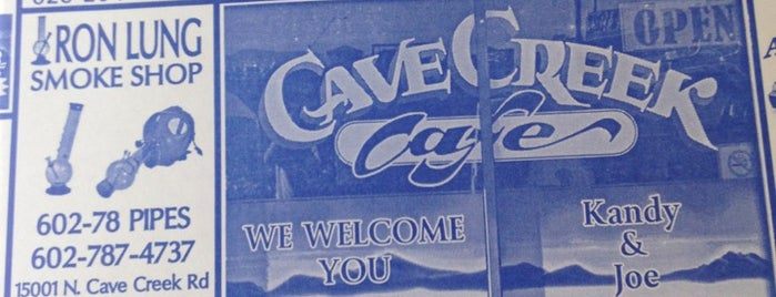 Cave Creek Cafe is one of PHX Coffee (indie) in The Valley.