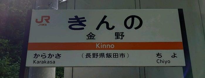 金野駅 is one of JR 고신에쓰지방역 (JR 甲信越地方の駅).