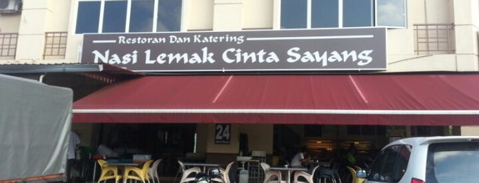 Nasi Lemak Cinta Sayang is one of Rahmatさんのお気に入りスポット.