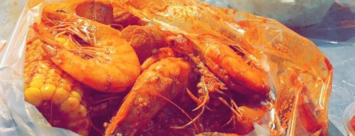 Shrimp zone is one of Lugares guardados de Queen.