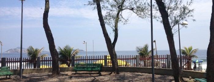 Parque Garota de Ipanema is one of osvaldo'nun Kaydettiği Mekanlar.
