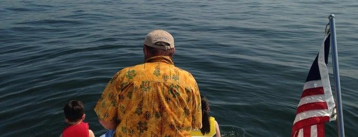 Public Beach West Lake Okoboji is one of Orte, die Andrew gefallen.