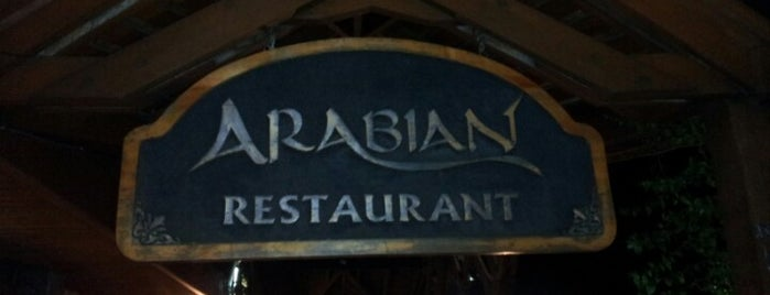 Arabian Cafe Restaurant is one of alfredo 님이 좋아한 장소.