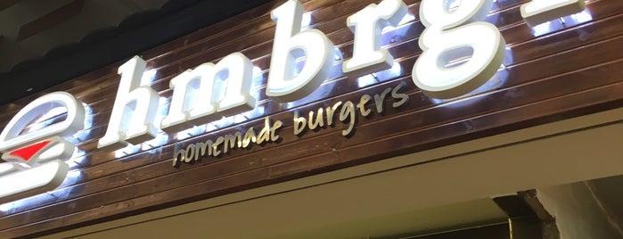 Hmbrgr - Homemade Burgers is one of Bence Ankara.