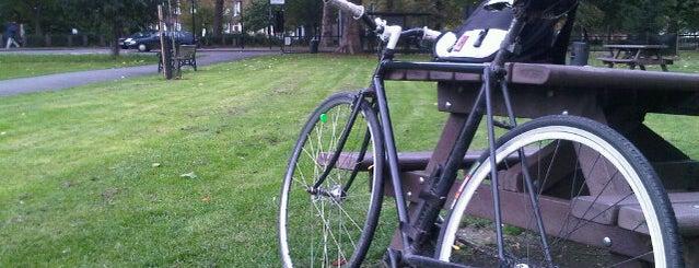 Stoke Newington Common is one of London.