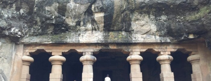 Elephanta Caves is one of Incredible India.