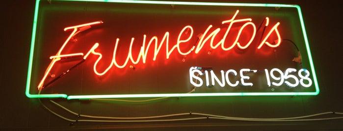 Frumento's Italian Market is one of LA Lunch.