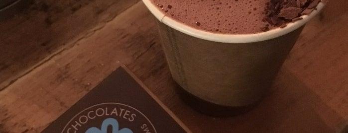 Nunu Chocolates is one of 6 Tastiest Hot Chocolate Spots in NYC.