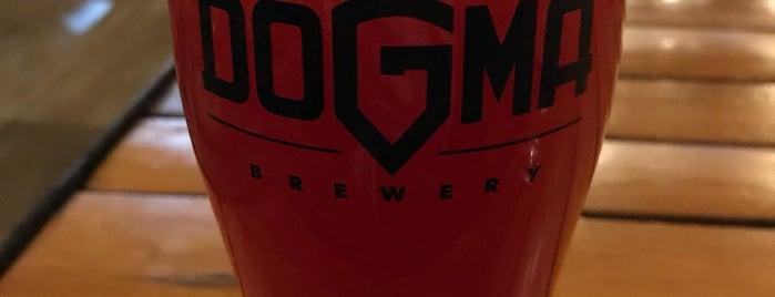 Dogma Brewery is one of Anna 님이 좋아한 장소.