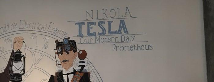 Н. Тесла is one of สถานที่ที่ Roman ถูกใจ.