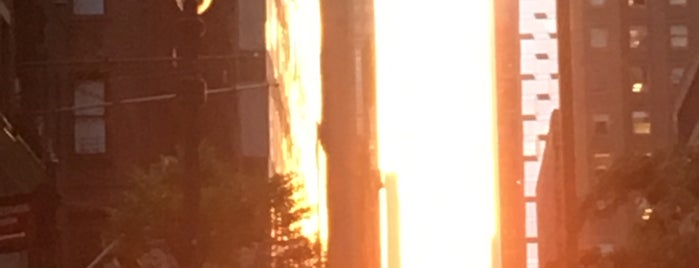 Manhattanhenge is one of New York!.