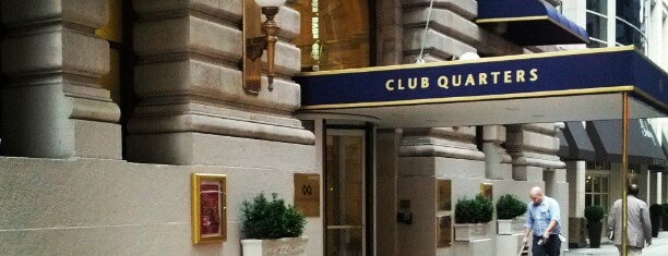 Club Quarters Hotel, opp Rockefeller Center is one of Hoteis.