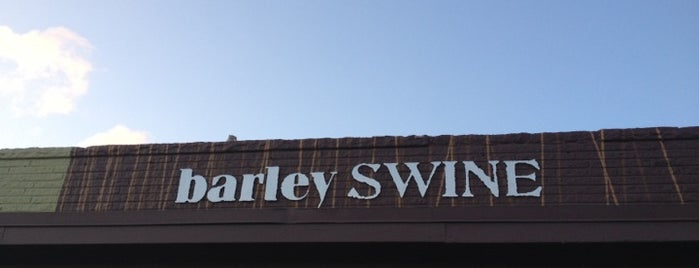 Barley Swine is one of Austin Places to Try.