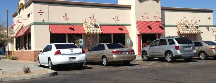 Carolina's Mexican Food is one of Tempat yang Disukai Andy.