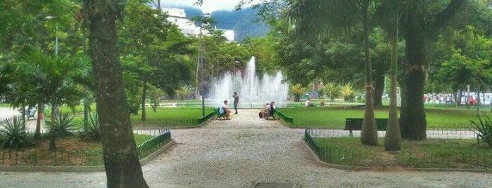 Praça Santos Dumont is one of osvaldo'nun Kaydettiği Mekanlar.