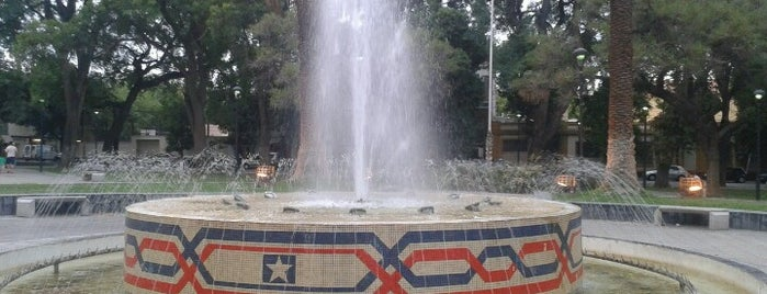 Plaza Chile is one of Cuyo (AR).