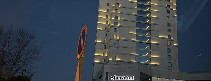 Sheraton Grand Samsun Hotel is one of Otels.