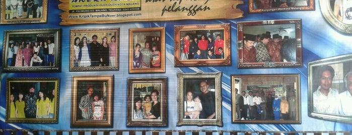 Bu Noer Aneka Rasa is one of Welcome to Malang!.