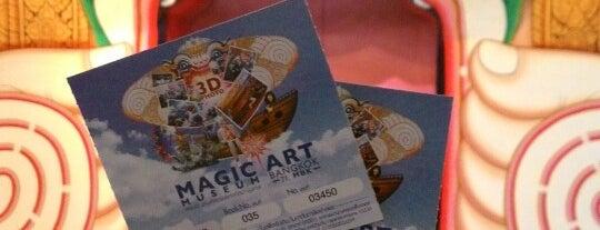 Magic Art Museum Bangkok is one of Lieux sauvegardés par WuWu.