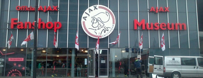 Ajax Fanshop is one of Lugares favoritos de Ralf.