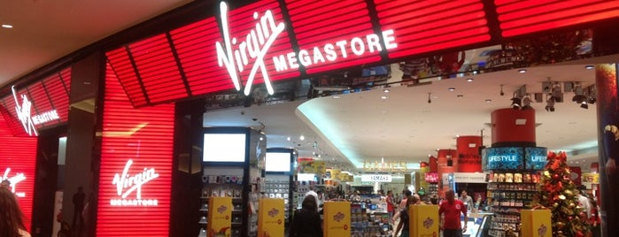 Virgin Megastore is one of All-time favorites in United Arab Emirates.