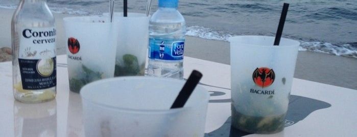 Sunsplash is one of Formentera.