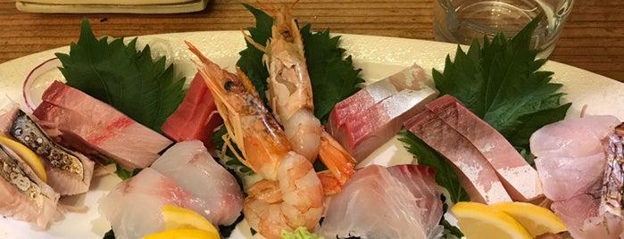 博多 魚介 is one of 大人が行きたいうまい店2 福岡.