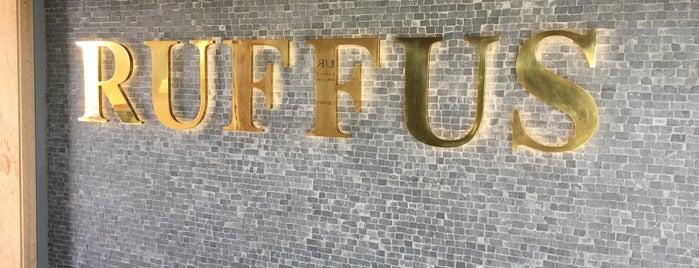 Ruffus is one of Anthony'un Beğendiği Mekanlar.