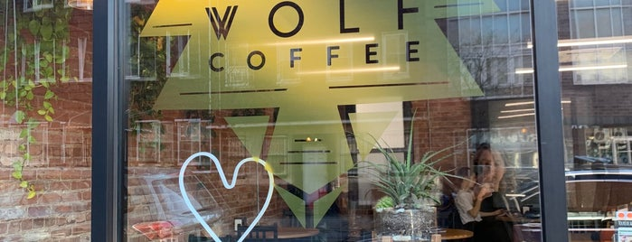 Rose Wolf Coffee is one of Lugares favoritos de Erik.