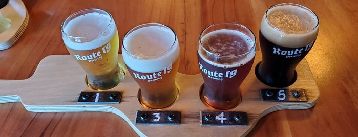 Route 19 Brewing is one of Bob Pelley's Cape Breton.