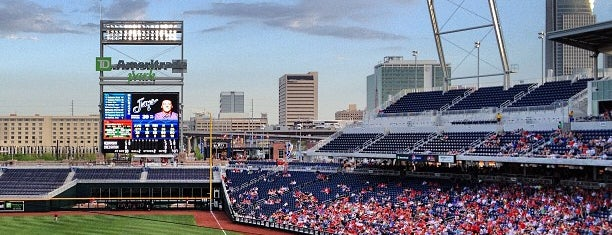 TD Ameritrade Park is one of Fav Places.