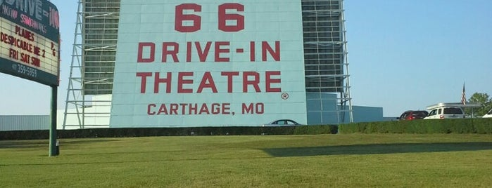 Old 66 Drive-in Theater is one of Historic Route 66.