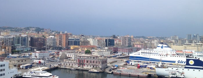 Porto di Napoli is one of ITALY all around.