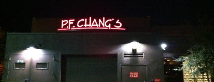 P.F. Chang's is one of Dinner spots, Arizona.