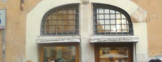 Forno Campo de' Fiori is one of Rome.