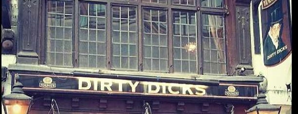 Dirty Dicks is one of London Map.