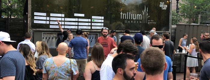 Trillium Garden On The Greenway is one of Boston 2018/19.