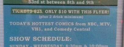 World Comedy Club is one of Frequency.