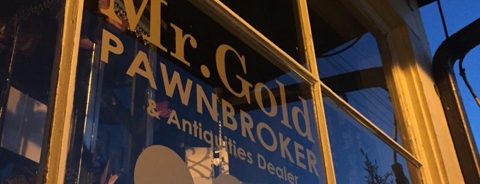 Mr Gold's Pawn Broker is one of Portland, Seattle, and Vancouver.